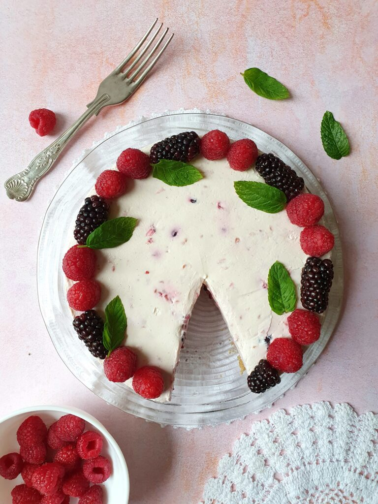 blackberry cheesecake the best recipes from london